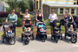 new mom stroller brigade