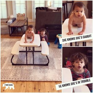 C'MON MAMA best baby gear picnic table