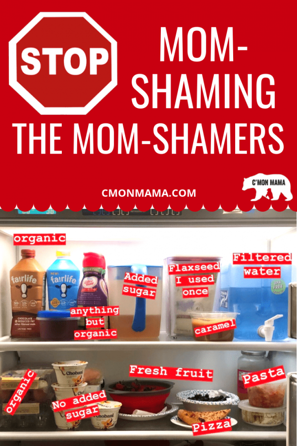 Mom-shaming a Mother for trying too hard is just as bad as shaming one for trying too little. Mom-shaming a mom-shamer doesn't make you any better. There's no difference. Both are still mom-shaming other Mothers. And both should be ashamed. #momshame #momshaming