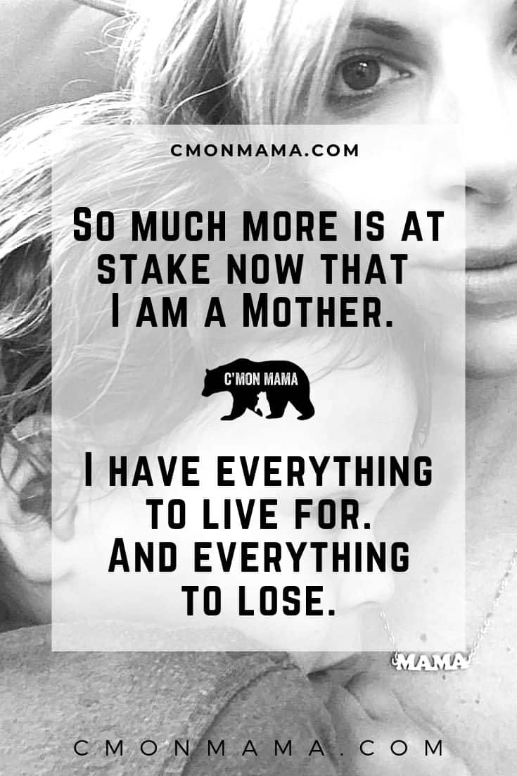 C'MON MAMA mom scared to fly because she has everything to live for