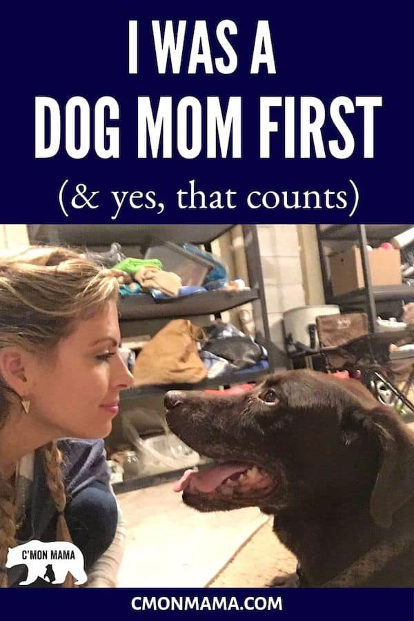 Long before my children made me a Mother, my dog made me a Mom. A Dog Mom. A Fur Mama. And nothing—no amount of time or space or human kids—can change that.  #dogmom #furmama #furmom #furbaby #dogbaby #mansbestfriend #girlsbestfriend