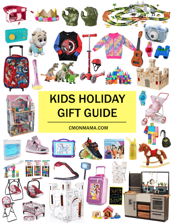 This Ultimate Kid\'s Holiday Gift Guide is full of our tried & true fave gifts for kids. Guaranteed to be a hit with your kid! I\'ve done the research so you don\'t have to!  I\'ve got you covered for everything from BIG Santa things to tiny Stocking Stuffer things & everything in between! (Plus everything is Amazon Prime because #momlife)   Happy Christmas Shopping! 🎁   #christmasgiftguide #holidaygiftguide #kidsgiftguide #kidsgiftideas #giftideasforkids #christmasforkids #santaideas #...