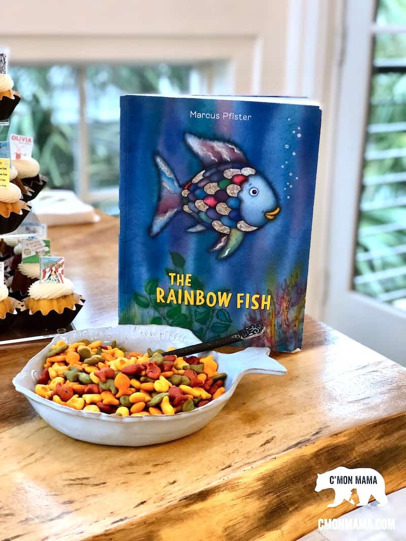 Storybook Baby Shower Rainbow Goldfish