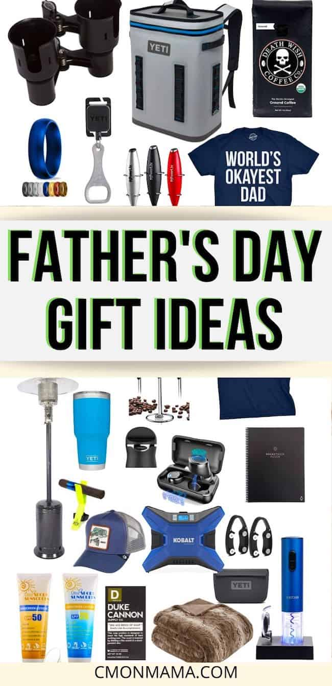 This Father\'s Day Gift Guide has gift ideas for men that they\'ll love & USE. And the perfect gifts for Him: the man who is impossible to buy for because he has everything. Dad AND Husband approved.