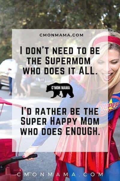 quarantine with kids supermom
