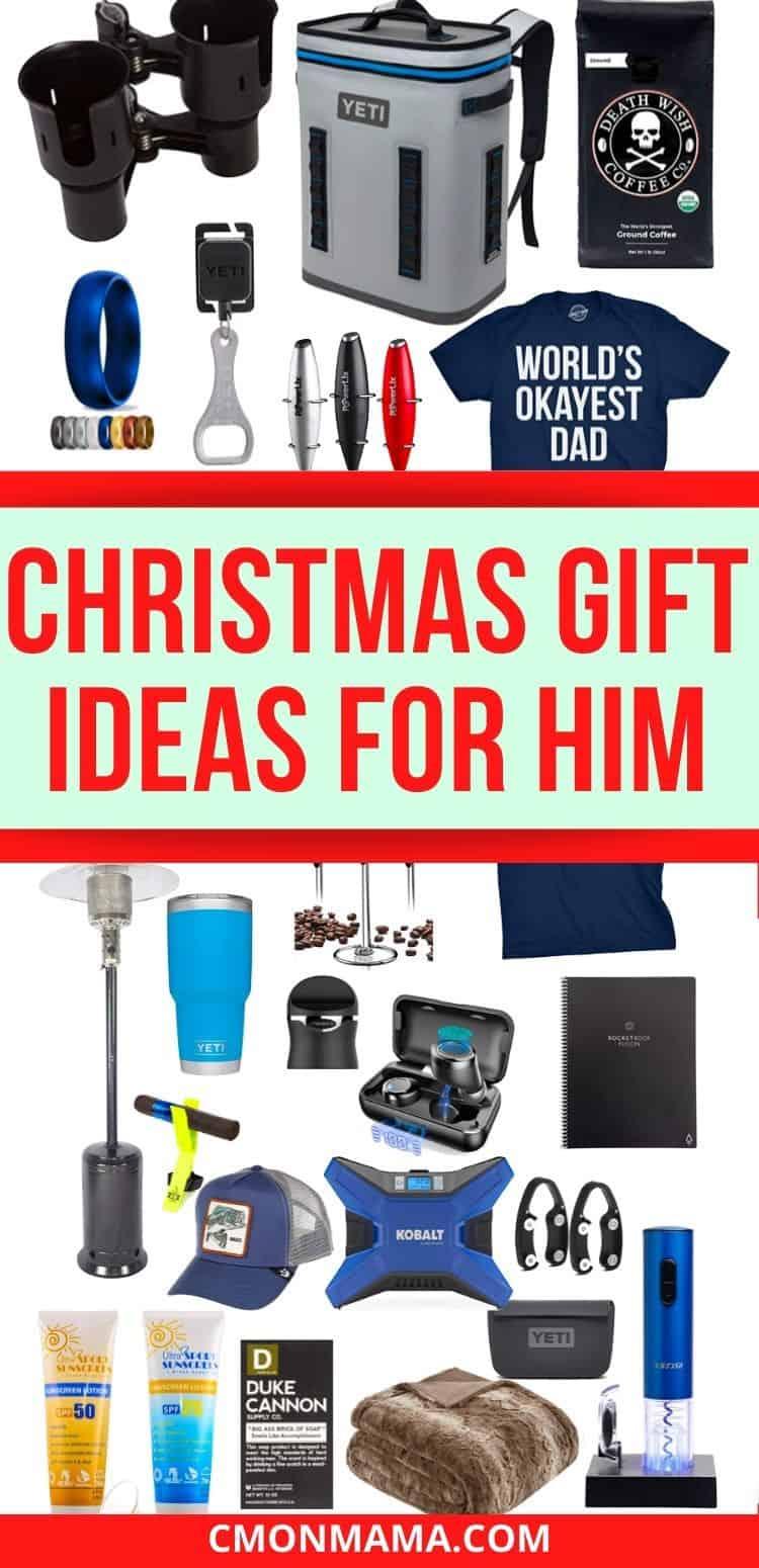 Christmas Gift Ideas for Men (& stocking stuffers!)