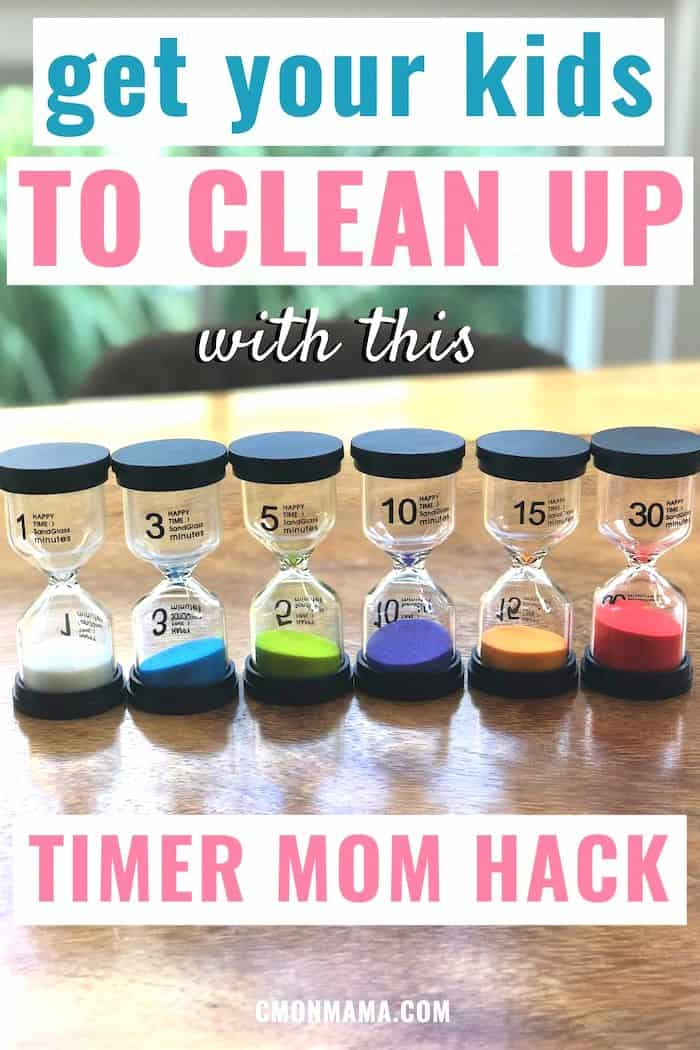 How a Kid\'s Hourglass Timer got our Kids to Clean Up