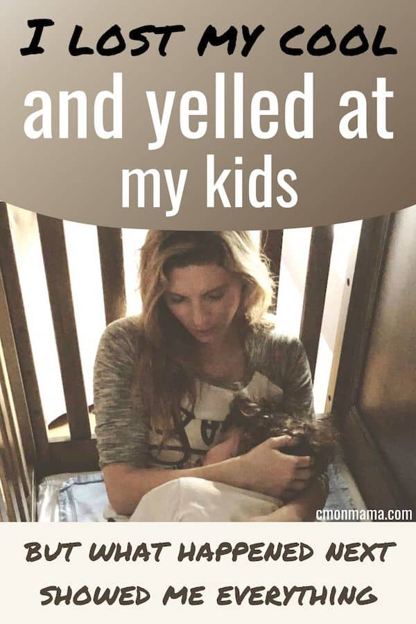 I lost my cool & yelled at my Kids (but what happened next...)