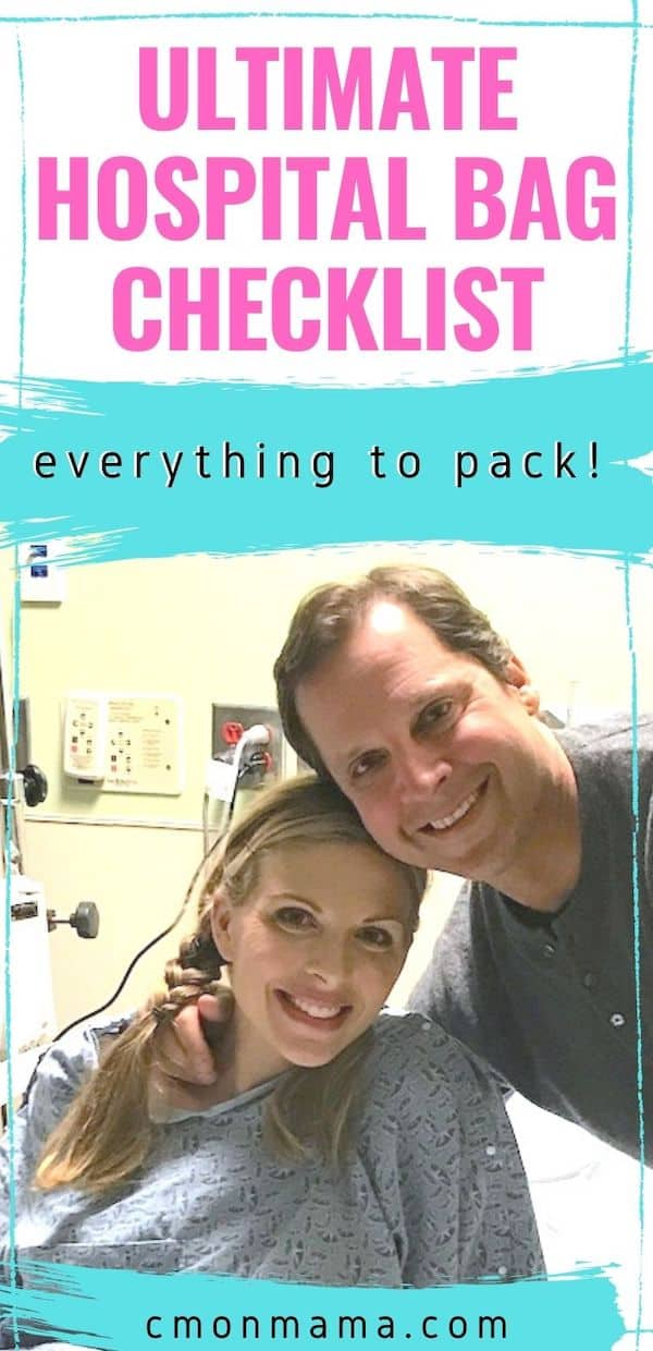 Ultimate Hospital Bag Checklist (what to pack!)