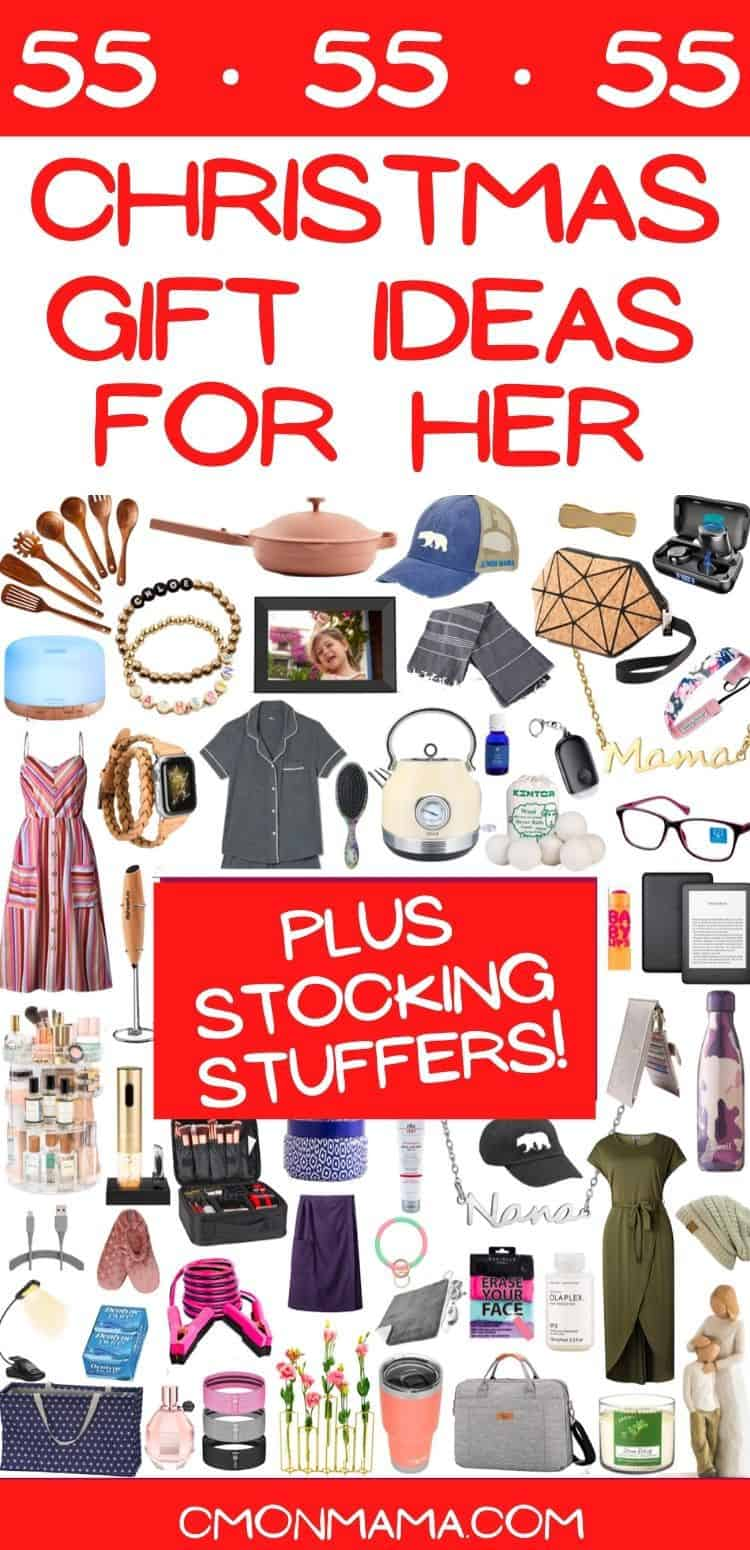 55 Christmas Gift Ideas for Her (+ stocking stuffers!)
