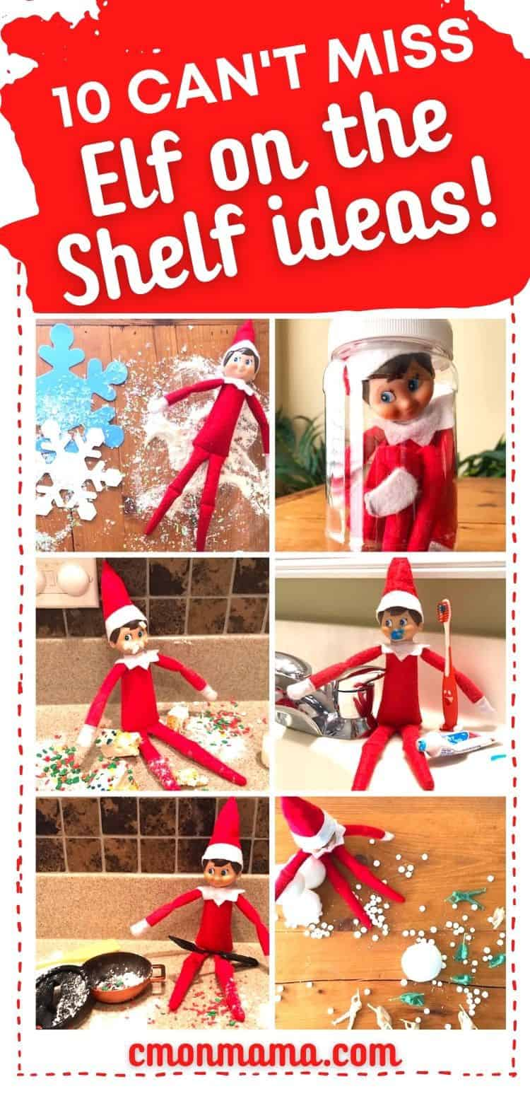 10 Can\'t Miss Elf on the Shelf Ideas (+ 3 bonus nights!)