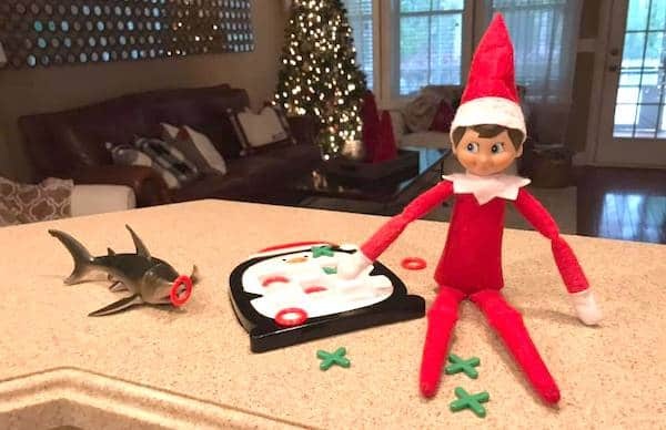 elf on the shelf idea toy game