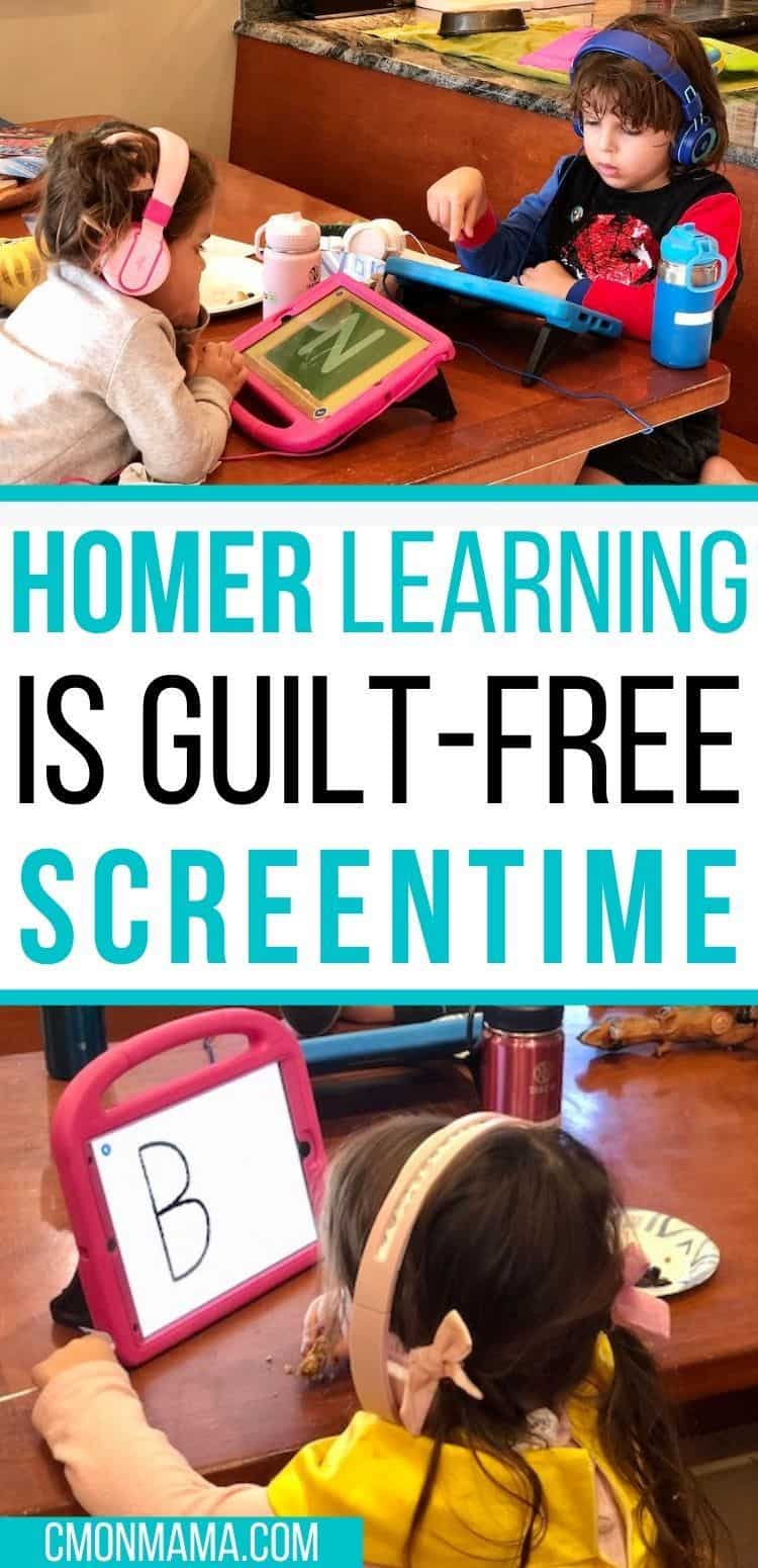 HOMER Learning App Review: Guilt-Free Screen Time (a Mom\'s dream)